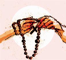Leer de rozenkrans: mediteren en bidden met je handen en je hart