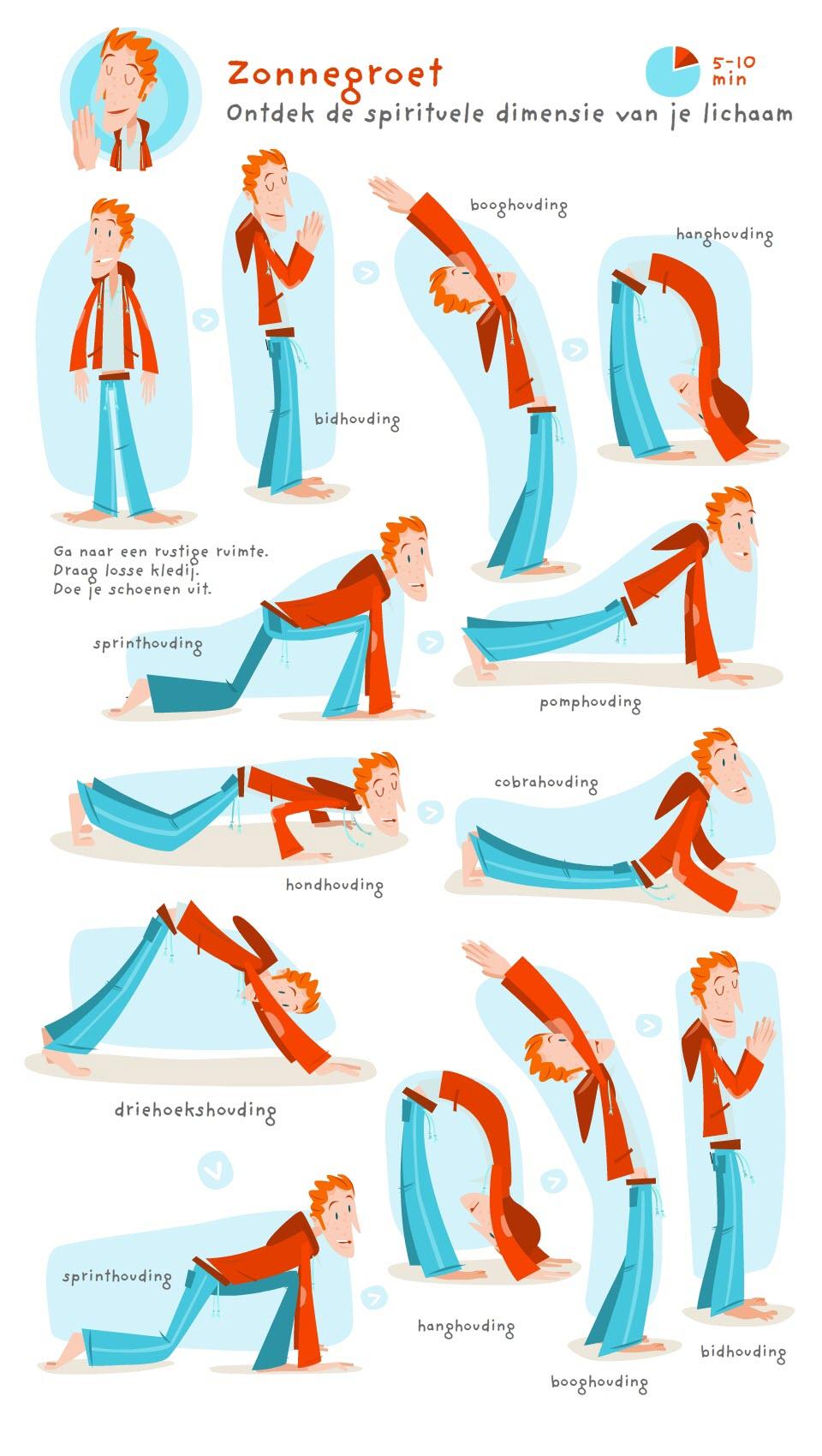 Leer de zonnegroet: yoga voor lichaam en geest